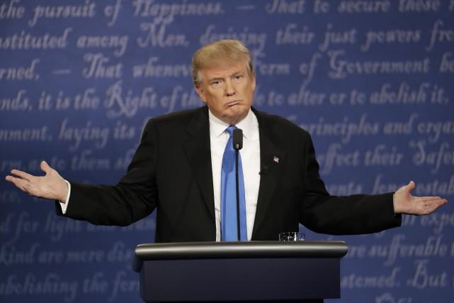 Donald Trump, candidat républicain à la présidence américaine.... (AP)