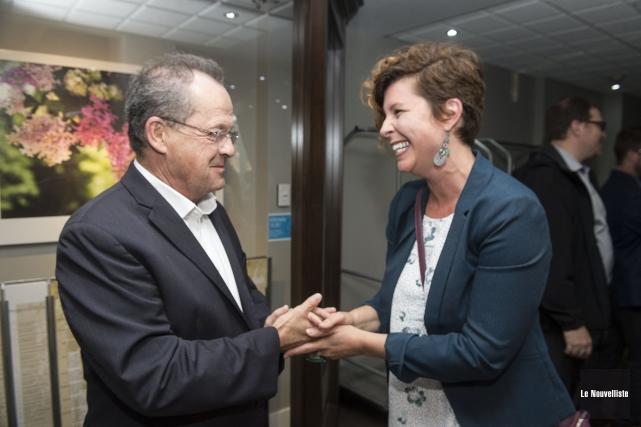 Le maire démissionnaire de Nicolet, Alain Drouin, n'a... (Stéphane Lessard, Le Nouvelliste)