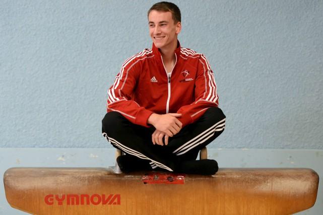 Thierry Pellerinest devenu le premier athlète de la... (Photothèque Le Soleil, Erick Labbé)