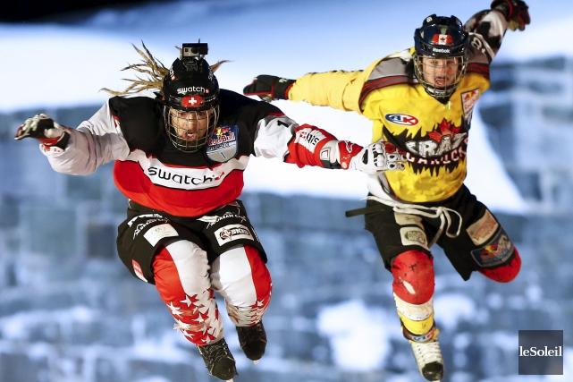 Les gens qui sont derrière le phénomène Red Bull Crashed Ice ont... (Yan Doublet, Archives Le Soleil)