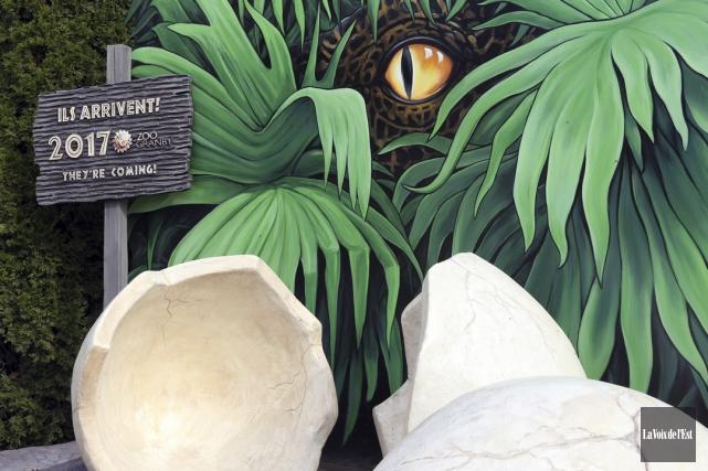 Les dinosaures seront-ils de retour au Zoo de... (Christophe Boisseau-Dion, La Voix de l'Est)