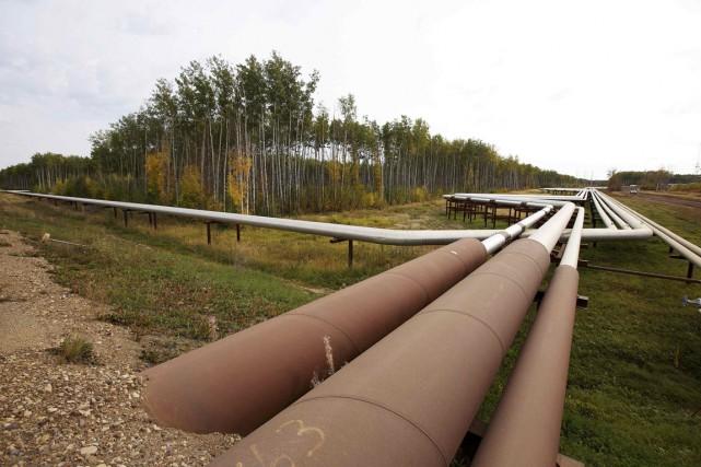 Trilogy Energy affirme que la fuite d'oléoduc qu'elle a découverte la semaine... (Photo Todd Korol, archives REUTERS)