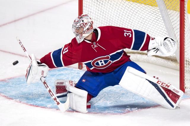 Pour la première fois depuis 2007, Carey Price... (La Presse canadienne, Paul Chiasson)