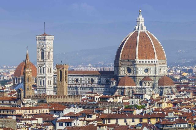 La coupole du Duomo a été conçue par... (123RF/Javier Martin)