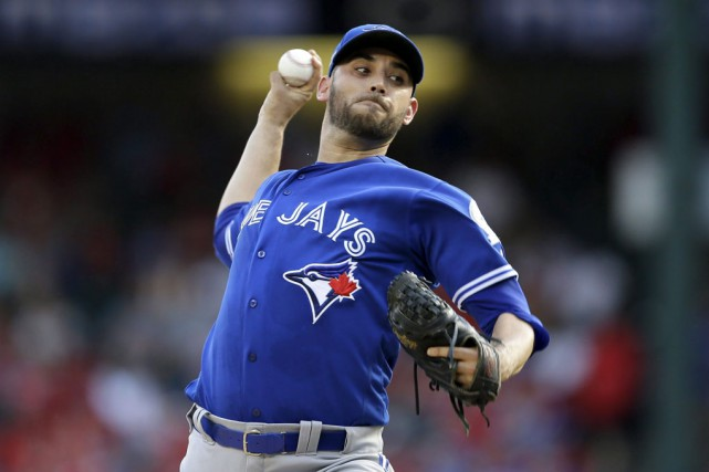 Marco Estrada, dont la réputation n'est plus à... (LM Otero, The Associatesd Press)