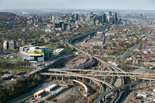 Le projet de construction du nouvel échangeur Turcot,... (Photo Martin Tremblay, La Presse)