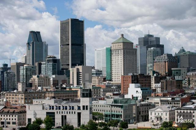 Vue de Montréal... (Archives La Presse)