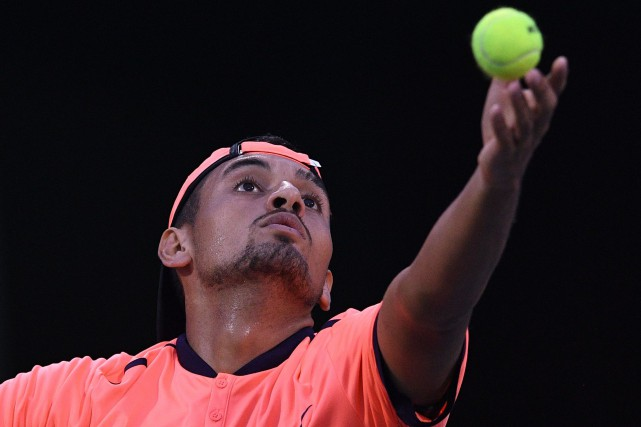 Nick Kyrgios... (Photo Johannes Eisele, AFP)