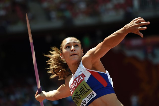 Jessica Ennis-Hill... (Photo Franck Fife, AFP)