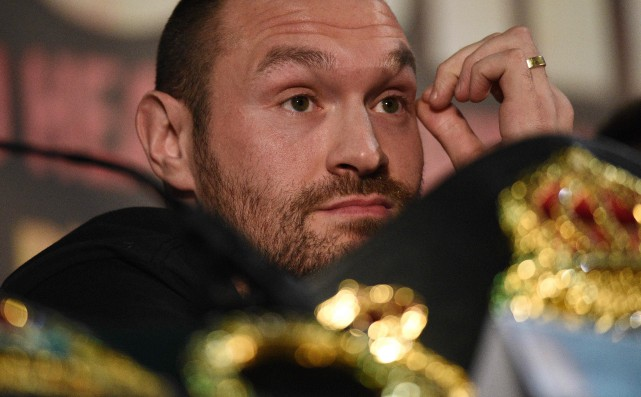 Tyson Fury... (Photo Oli Scarff, archives AFP)