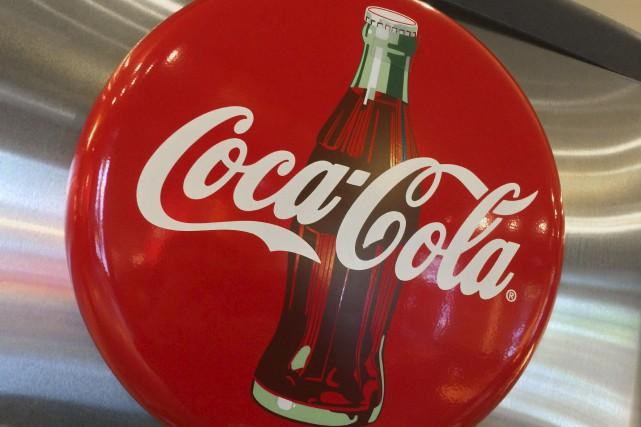 Une enseigne de Coca-Cola dans un restaurant de... (AFP, Karen Bleier)