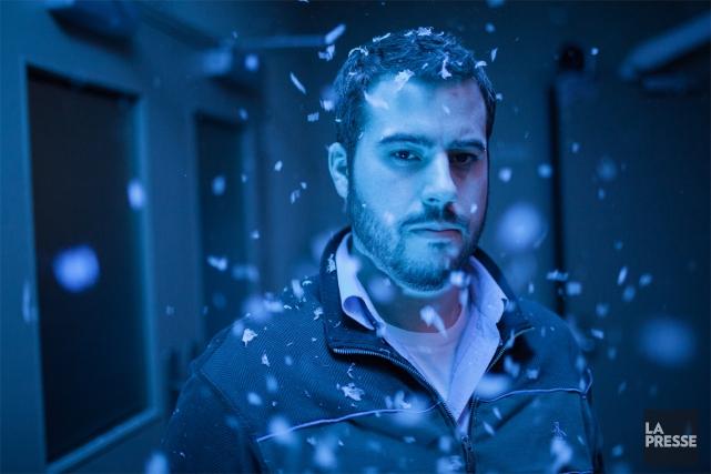 Éric Piccoli, producteur de la série web Temps... (PHOTO ÉDOUARD PLANTE-FRÉCHETTE, LA PRESSE)