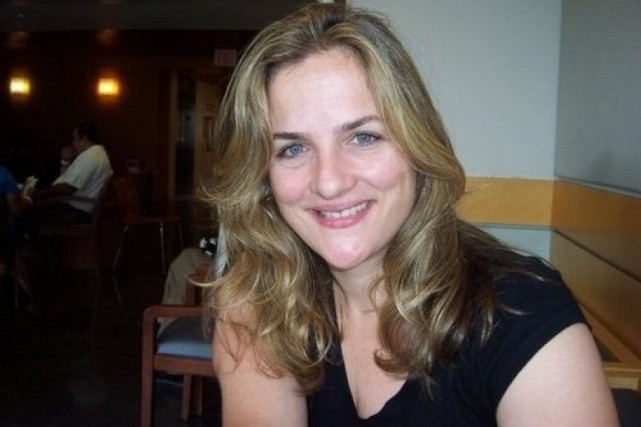 Natasha Stoynoff... (PHOTO TIRÉE DE TWITTER)