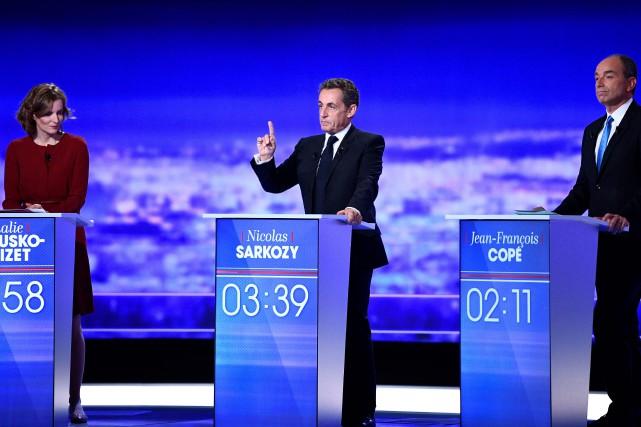À l'issue de la première heure d'émission, c'est... (PHOTO Martin BUREAU, AFP)