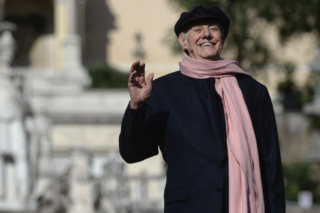 Dario Fo, en juin dernier.... (AFP, Filippo MONTEFORTE)
