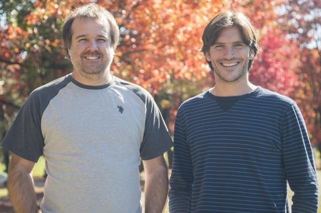 Olivier Brousseau et Jean-François Létourneau sont au coeur... (Photo Spectre Média, Marie-Lou Béland)