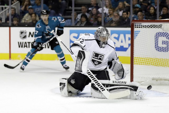 Jonathan Quick... (PHOTO Marcio Jose Sanchez, AP)