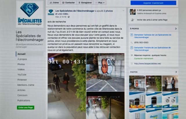 Le commerce Les Spécialistes de l'électroménager au centre-ville... (Spectre Média, Jessica Garneau)