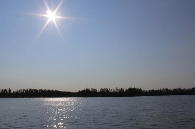 Malgré les circonstances, le soleil va donc continuer... (fournie par Claude Lacroix)