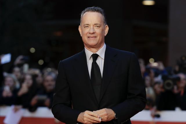 Tom Hanks était dans la capitale italienne pour... (AP, Andrew Medichini)