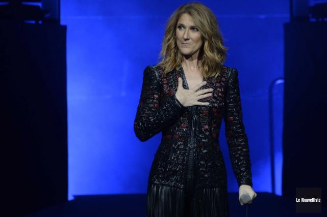 Céline Dion lors de son passage à Trois-Rivières.... (Sylvain Mayer, Le Nouvelliste)