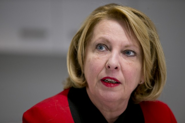 La ministre Christine St-Pierre... (La Presse)