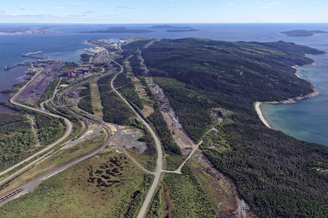 L'évaluation que fait la Société ferroviaire et portuaire... (Fournie par le Port de Sept-Îles)
