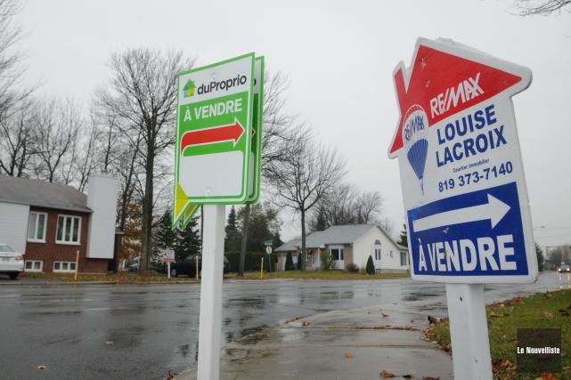 Les prix de vente des maisons à Trois-Rivières... (François Gervais, Le Nouvelliste)