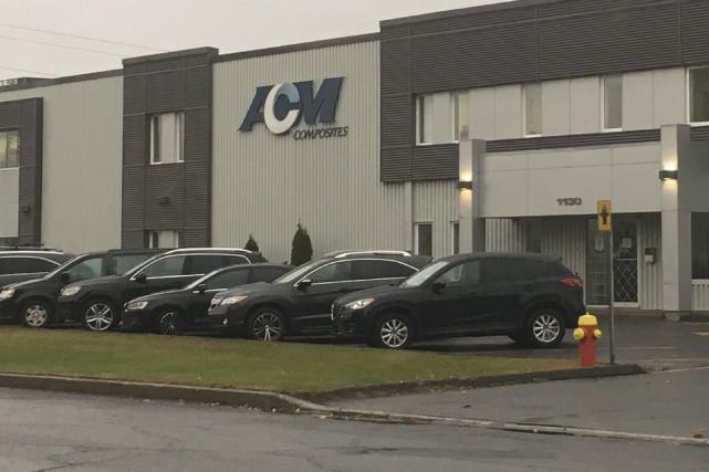 ACM Composites a fermé ses portes, mettant à... (Collaboration spéciale, Éric Beaupré)