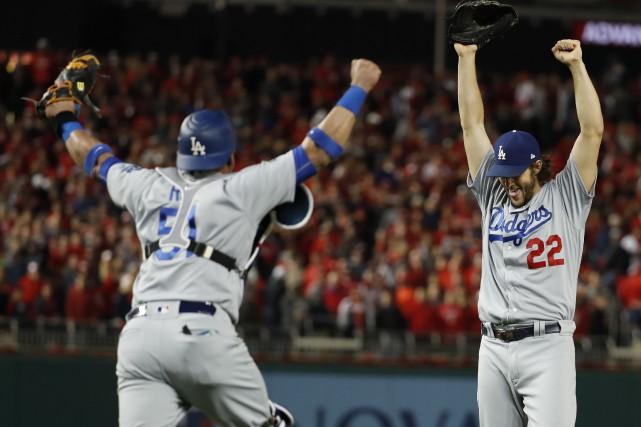 Les Dodgers de Los Angeles ont marqué tous... (AP)