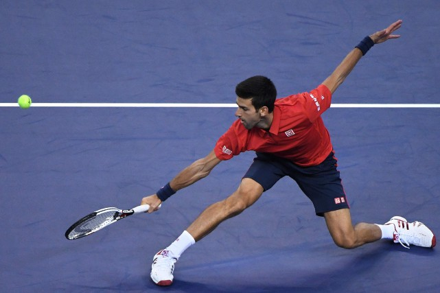 Novak Djokovic... (Photo Wang Zhao, AFP)