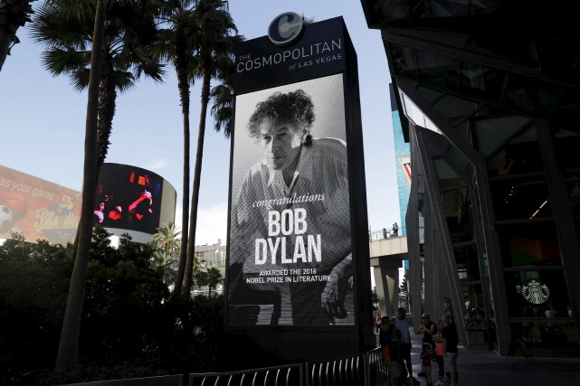 Des félicitations à l'intention de Bob Dylan sont... (AP, John Locher)