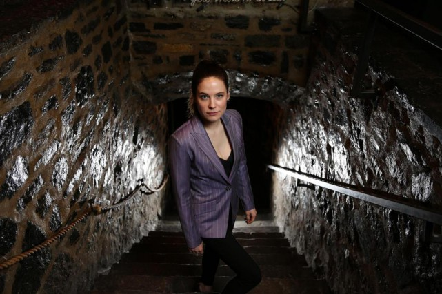 Caroline Dhavernas sera la vedette de la série... (Photo Martin Chamberland, Archives La Presse)