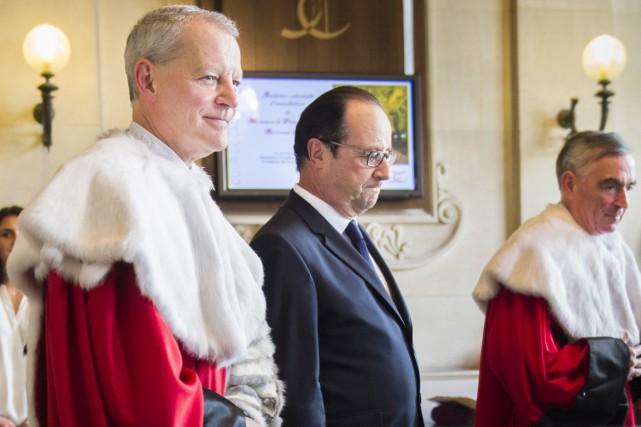 Sur cette photo prise en juillet 2014, François... (photo MARTIN BUREAU, archives AFP)