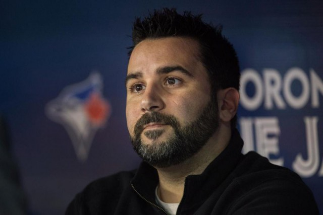 Alex Anthopoulos a quitté les Blue Jays en... (photo Darren Calabrese, archives la presse canadienne)