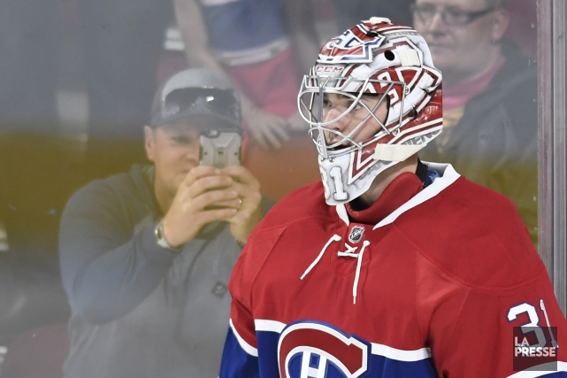 Carey Price.... (Photo La Presse)