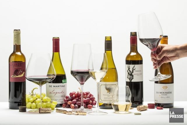 Notre collaboratrice suggère cinq vins bios qui se démarquent. (PHOTO HUGO-SÉBASTIEN AUBERT, LA PRESSE)