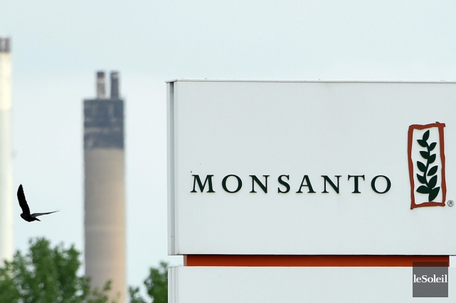 Monsanto, qui produit des semences génétiquement modifiées ainsi... (photo JOHN THYS, AFP)