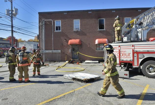 Un incendie a causé la fermeture du restaurant Eggsfruits situé sur la rue... (Spectre média, Maxime Picard)