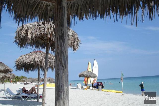 La plage de Varadero à Cuba.... (Photo Martin Chamberland, La Presse)