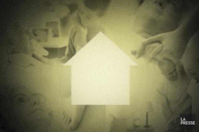 Mourir entouré des siens, dans sa maison. C'est un souhait partagé par de plus... (Photomontage La Presse)