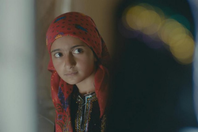 Moi, Nojoom, 10 ans, divorcéede Khadija al-Salami représente... (Photo fournie par le FNC)