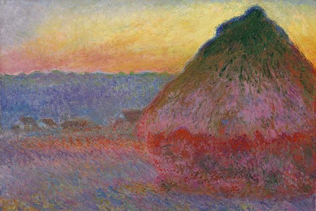 L'oeuvre de Claude Monet estestimée à 45 millions... (AP)
