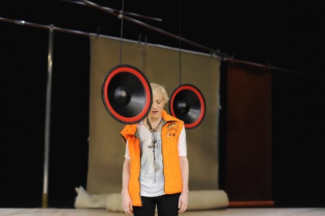 Dans ce spectacle éminemment personnel sans être autobiographique,... (Photo Iris Janke, fournie par la production)