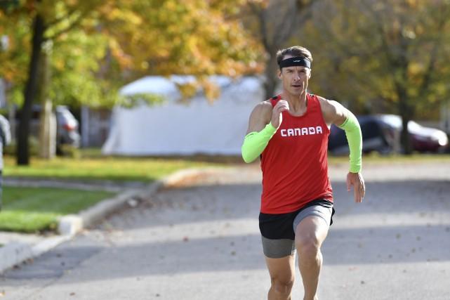 Patrick Charlebois est le premier participant canadien inscrit... (Stéphane Lessard)