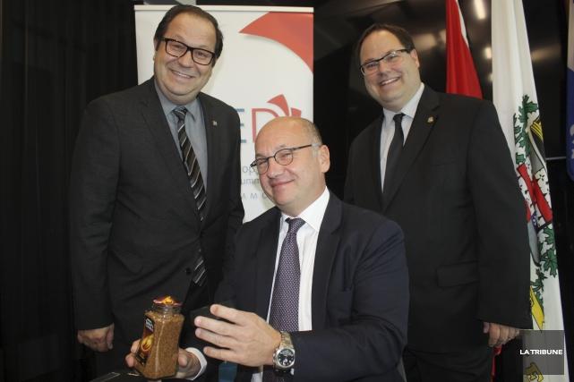 Le directeur général de la SDED, Martin Dupont,... (La Tribune, Yanick Poisson)
