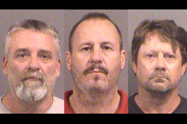 On soupçonne les trois hommes d'avoir voulu placer... (Photos AP)