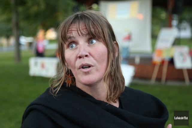 Sophie Labrieest intervenante au CALACS de Granby.... (archives La Voix de l'Est)