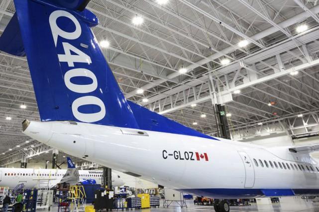 Un Q400 de Bombardier... (Fournie par Bombardier)
