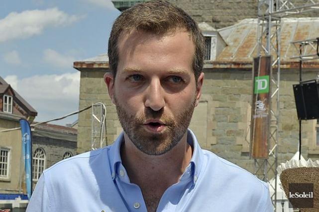 Le député libéral de Louis-Hébert, Joël Lightbound... (Photothèque Le Soleil, Pascal Ratthé)